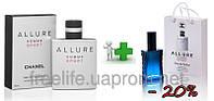 Chanel Allure Homme Sport 100 ml + подарочный набор Chanel Allure Homme Sport 50 ml