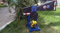 Веткоруб ВТР — 70 с однофазным двигателем 4 кВт