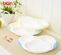 Тарелка детская, порционная, детская посуда для кормления Bigin