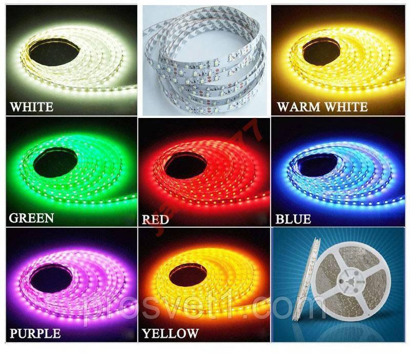 Светодиодная лента 5050smd RGB LS606/14.4W
