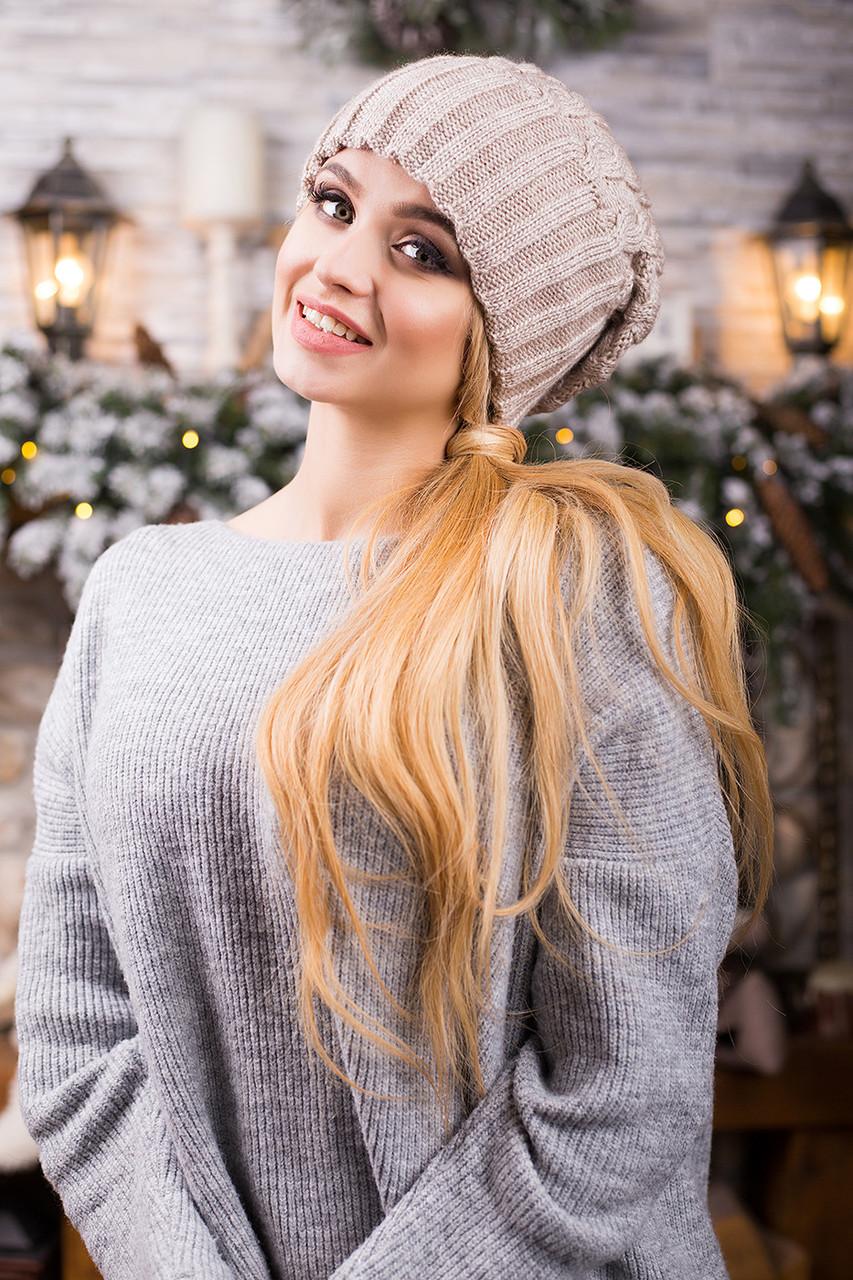 вязаные шапки 2017 женские цена 225 грн купить в киеве Promua