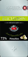 Шоколад Bucheron горький с фисташками 100 грамм в металлическом пенале