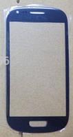 Стекло корпуса для мобильного телефона Samsung Galaxy S3 Mini / I8190 Blue