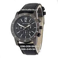 Часы Bvlgari B62 all black (кварц) UNISEX. Реплика, фото 1