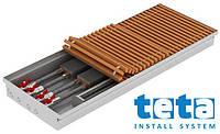 Внутрипольный конвектор Teplobrend ДСТП 380 380 х 1000 х 125, принудительная конвекция с дренажем