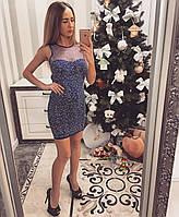 """Платье женское вечернее """"Снег"""" Kiki Riki. Турция"""