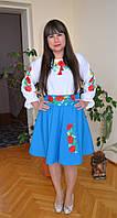 """Жіноче вишите плаття """"Ексклюзив"""" , фото 1"""
