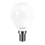 LED лампа MAXUS G45 F 4W 3000K 220V E14 (1-LED-5411), фото 2