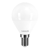 LED лампа MAXUS G45 F 4W 3000K 220V E14 (1-LED-5411)