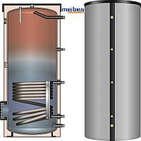 Водонагреватель косвенного нагрева Meibes BS 202 (серебряный) с изоляцией