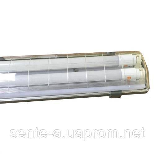 Люминесцентный светильник 38851 SH04-236/B T8 72W G13 накладной Евросвет