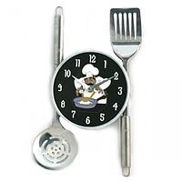 Часы настенные, Кухонные приборы 24*36,5*4,5 см