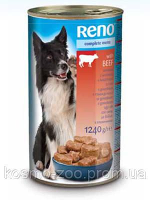Консервы для собак Рено (Reno, Венгрия) Телятина, 1240 гр