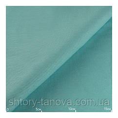 Красивые однотонные шторы стиль прованс голубые