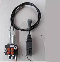 Моноблочный гидрораспределитель 02Р40 Badestnost - 2 сек (комплект с джойстиком и тросиками)