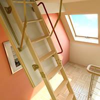Чердачная лестница FAKRO LTK Thermo 70х120, фото 1
