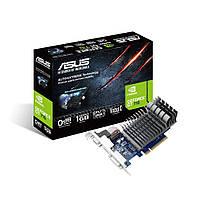 Видеокарта GeForce GT710, Asus, 1Gb DDR3, 64-bit, VGA/DVI/HDMI, 954/1800MHz, Silent (710-1-SL)