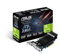 Видеокарта GeForce GT730, Asus, 2Gb DDR3, 128-bit, VGA/DVI/HDMI, 700/1600MHz (GT730-2GD3)