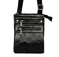 Мужская стильная небольшая сумка - барсетка 2 в 1 (8068S)