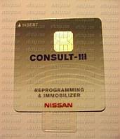 ПО для диагностического оборудования NISSAN CONSULT III REPROGRAMMING AND IMMOBILIZER CARD