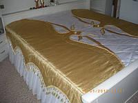 """Покрывало """"Белое золото""""(размеры индивидуально)"""