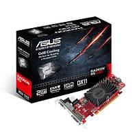 Видеокарта Radeon R5 230, Asus, 2Gb DDR3, 64-bit, VGA/DVI/HDMI, 650/1200MHz, Silent (R5230-SL-2GD3-L)
