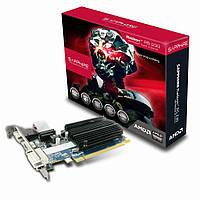 Видеокарта Radeon R5 230, Sapphire, 1Gb DDR3, 64-bit, VGA/DVI/HDMI, 625/1334 MHz, Silent (11233-01-20G)