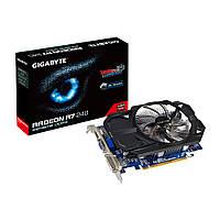 Видеокарта Radeon R7 240 OC, Gigabyte, 2Gb DDR3, 128-bit, VGA/DVI/HDMI, 900/1800 MHz (GV-R724OC-2GI)