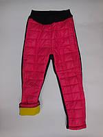 Лосины стеганные на трех нитке для девочки 98-110 см рост, фото 1