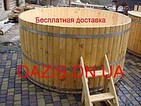 Купели круглые из лиственницы, фото 1