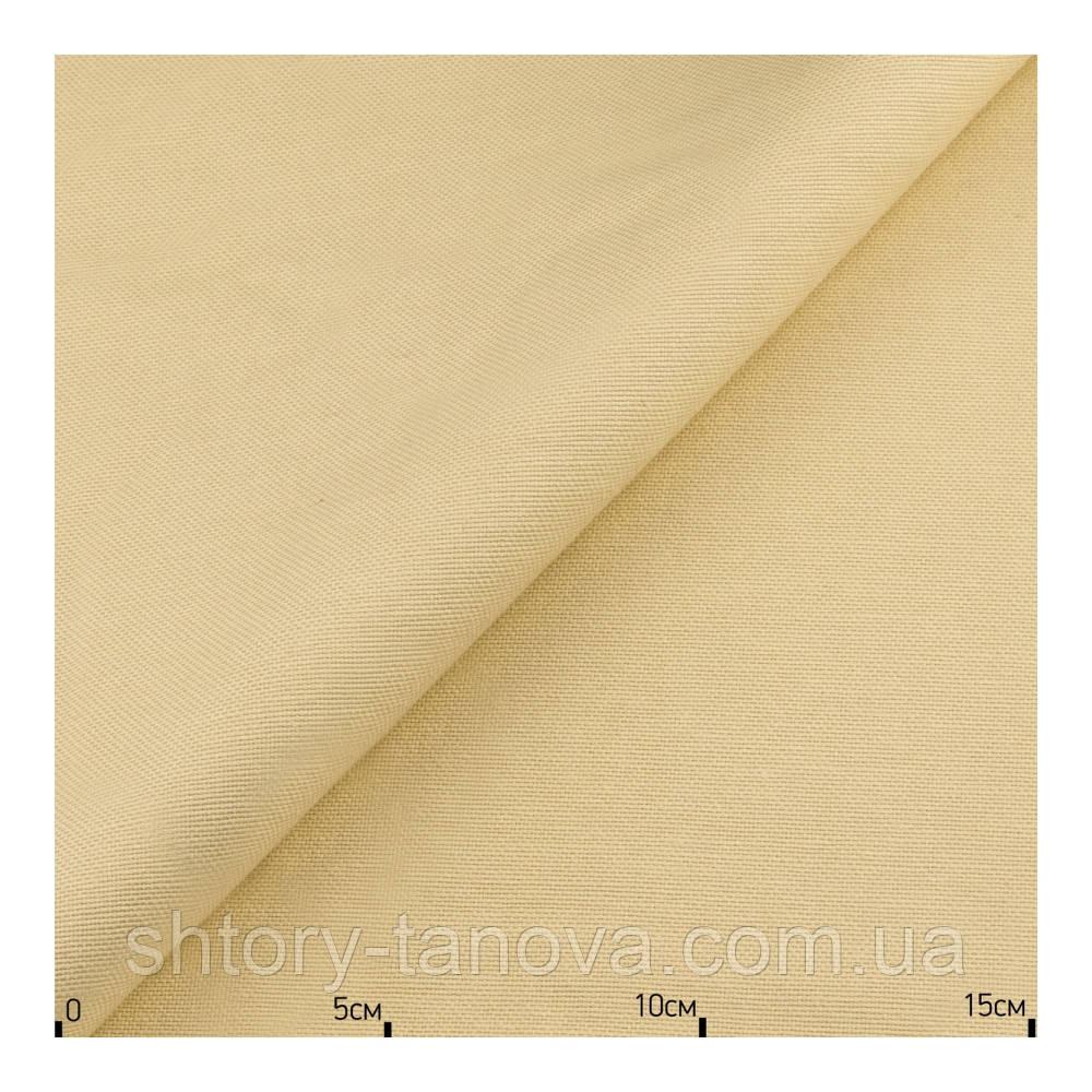 Светлая ткань для штор бежевого цвета