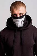 Бафф скорпион маска на лицо с принтом черная зимняя летняя