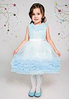 Праздничное платье для девочки 2-3 лет Пушистик