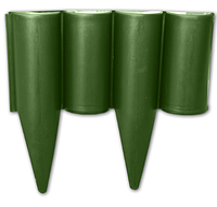 Палисад ( бордюр ) , 2,5 м , зелёный