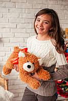 Мягкая игрушка Медвежонок Джек рыжий
