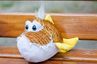 Мягкая игрушка Рыбка Шарик полосатая