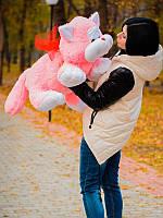 Мягкая игрушка Кот Шалун розовый