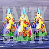 Колпачки карнавальные Винни Пух, 20 см
