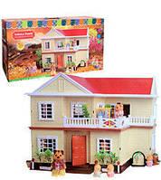 Дом для кукол 1512 Happy Family (раскладной)аналог Sylvanian Families Сильваниан