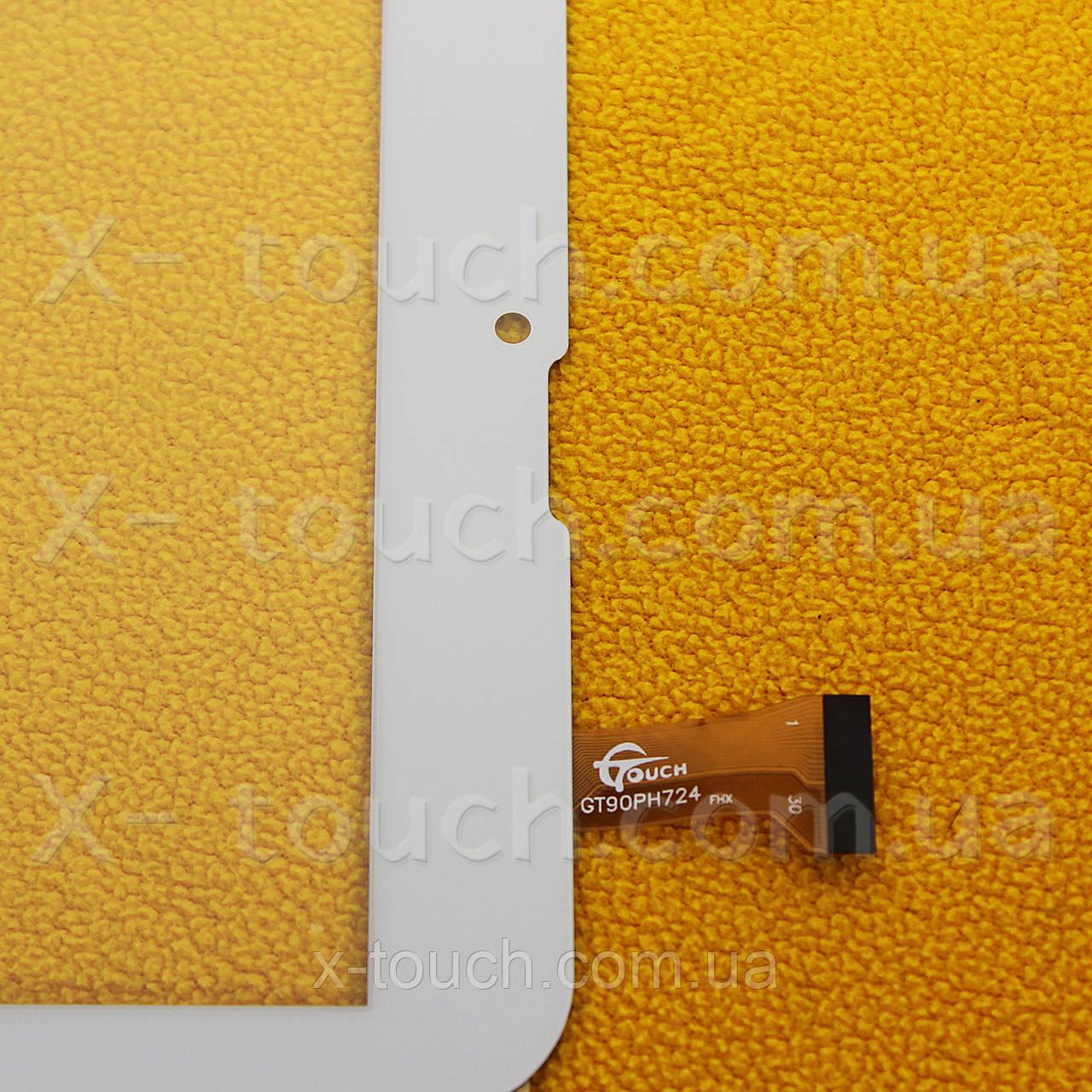 Тачскрин, сенсор  GT90PH724 Белый для планшета