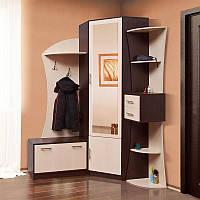 Мебель для прихожей Беатрис, угловая стенка в прихожую 1550*2200*1105