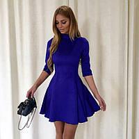 Платье мини из замши (3 цвета) 08270, фото 1