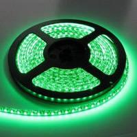LED лента 12 Вольт 3528, 60 диодов/м, зеленая / красная / синяя, без силикона, бобина 5 м