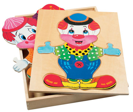 Игрушка гардероб Клоуна Bino (88001)