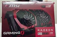Видеокарта MSI Radeon RX 480 GAMING X 4G