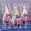 Колпачки карнавальные из картона Монстер Хай, 20 см