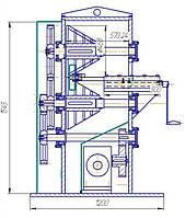 Станок  для разделки бронированных кабелей  от Ф16мм до Ф160мм