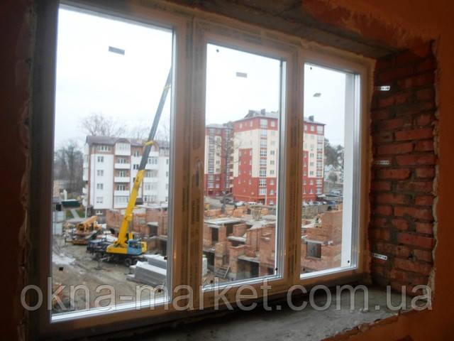 """Немецкие пластиковые окна Саламандра в фирме """"Окна Маркет"""""""
