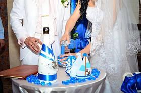 Свадебные резные свечи. В цвет свадьбы, ручной работы. 2
