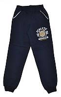Спортивные подростковые брюки с начесом для мальчиков. размеры 9-12 лет